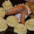 Картофельно - сырные розочки
