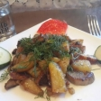 Жаренная картошка с грибами