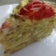 Блинный пирог из кабачков