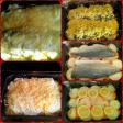 Филе рыбы, запеченное с овощами под сыром