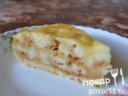 """Яблочный пирог """"болгарский"""""""