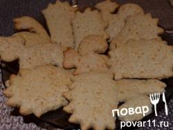 Печенье с овсяными хлопьями и медом