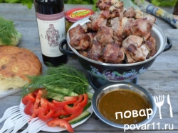 Соус сацебели к мясу Рецепт