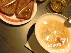 Дзосуй. Рецепт японского супа с крабом, рисом и яйцом