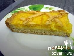 Постный апельсиновый пирог
