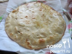 Хачапури с курицей и сыром. Рецепт дрожжевого теста