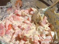 ПП-салатик: рецепт