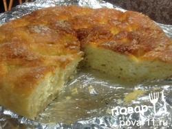 Простой сахарный пирог